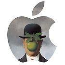 Apple Logo Rene Magritte by MarcoD