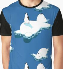 Polar bear and penguin Graphic T-Shirt