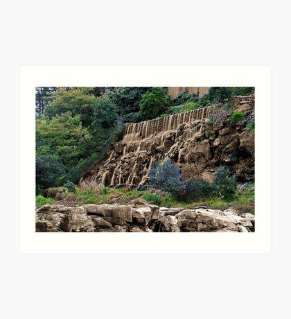 """""""Sepia Falls"""" Art Print"""