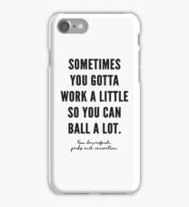 Parks and Recreation Quote iPhone Case/Skin
