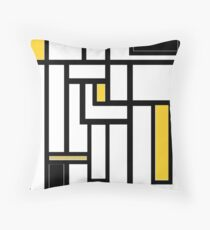 'Modern Vibe 5'  Throw Pillow