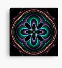 3d fractal mandala Canvas Print