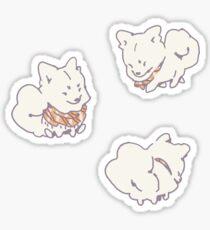 Fluff Dog Sticker