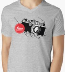 LEICA Men's V-Neck T-Shirt