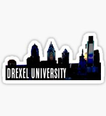 DREXEL UNIVERSITY | PHILLY SKYLINE Sticker