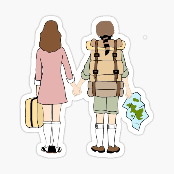 Suzy and Sam Sticker