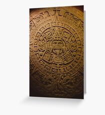 Mayan Calendar Greeting Card