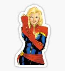 We will be the stars we were always meant to be - Carol Danvers Sticker