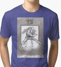 TAI OTOSHI Tri-blend T-Shirt