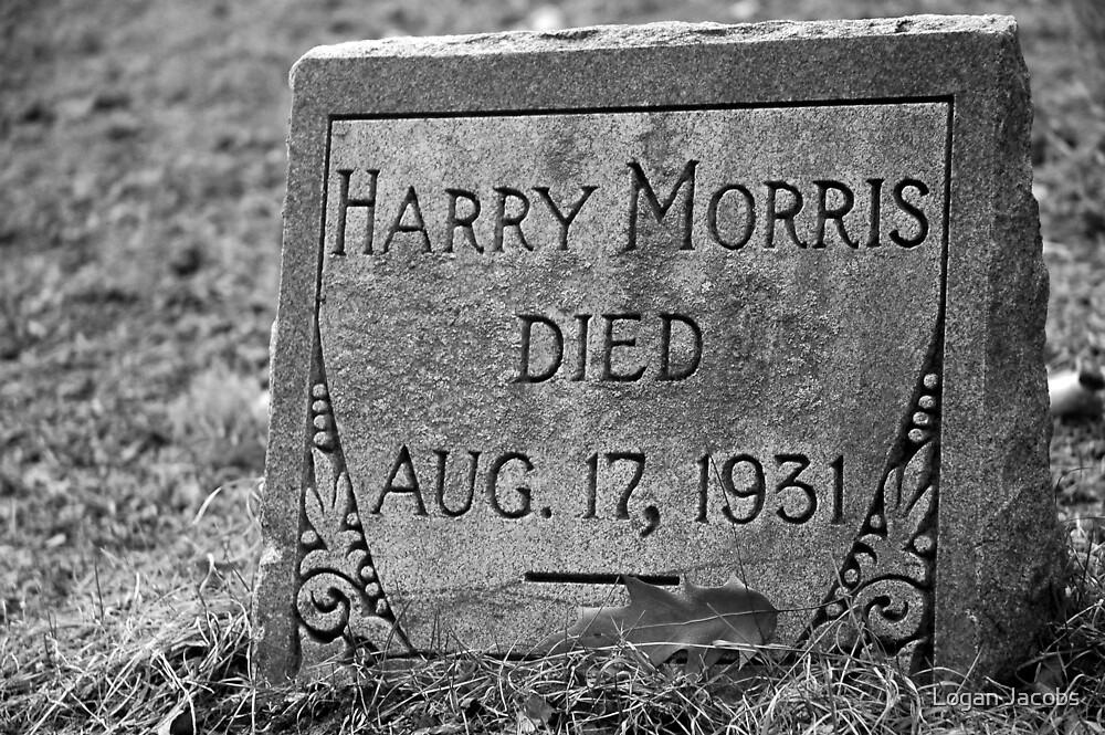 Harry Morris Died by Logan Jacobs