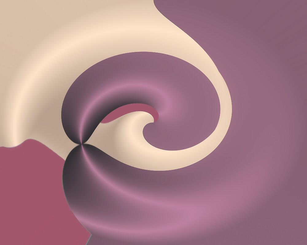 Raspberry swirl ice cream by pelmof