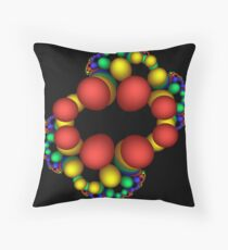 Fanciful DNA Throw Pillow