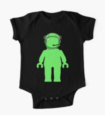 Banksy Style Astronaut Minifigure One Piece - Short Sleeve