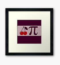 Pi Day - Cherry Pi Framed Print