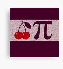 Pi Day - Cherry Pi Canvas Print