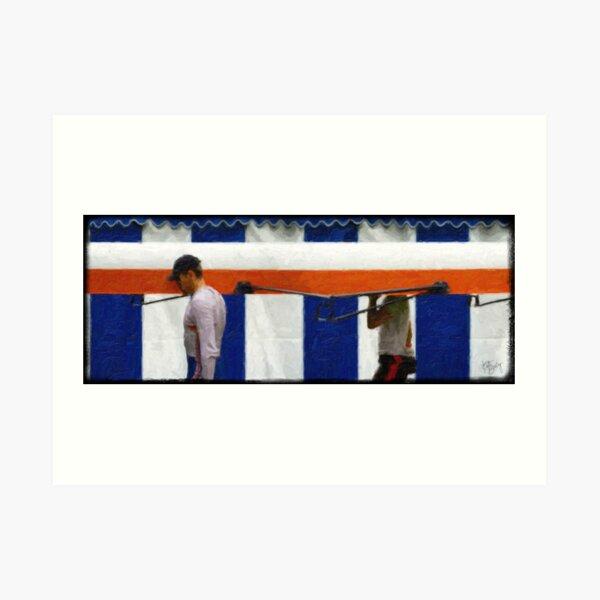 HENLEY ROYAL REGATTA - ROWERS 2 Art Print