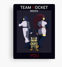 Rocket Recruitment  Canvas Print