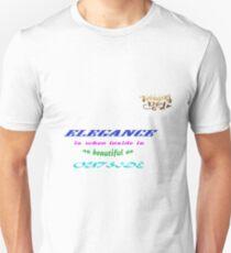 Elegance Womens Day Unisex T-Shirt