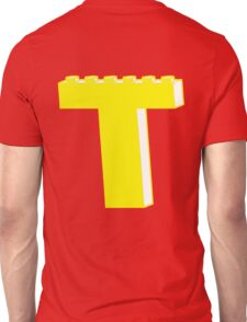 THE LETTER T, by Customize My Minifig T-Shirt