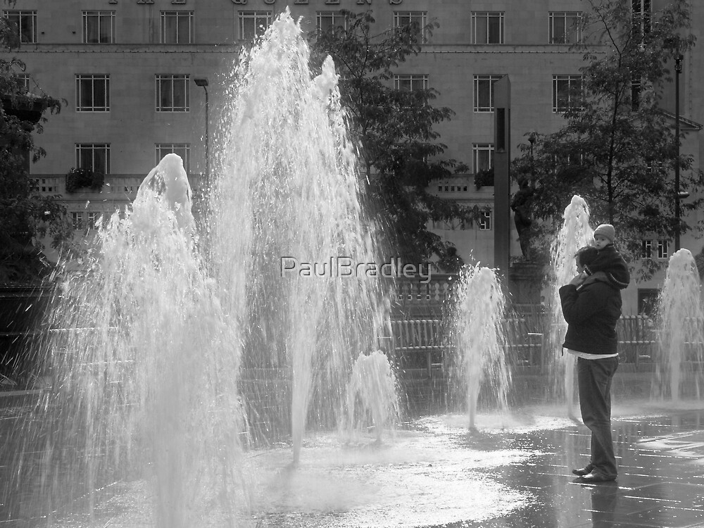 Watching the Fountains by PaulBradley
