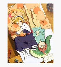 Dragon Maid / Miss Kobayashi & Tohru Photographic Print