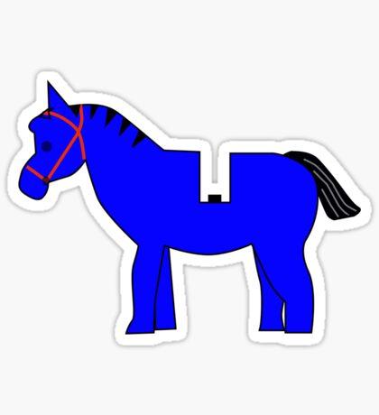 Interpretation of a Minifig Horse Sticker