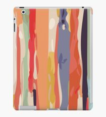 Abstract Vertical brush in MultiColor iPad Case/Skin