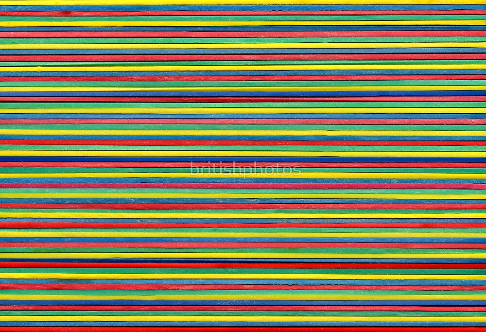 Color elastic bands by britishphotos