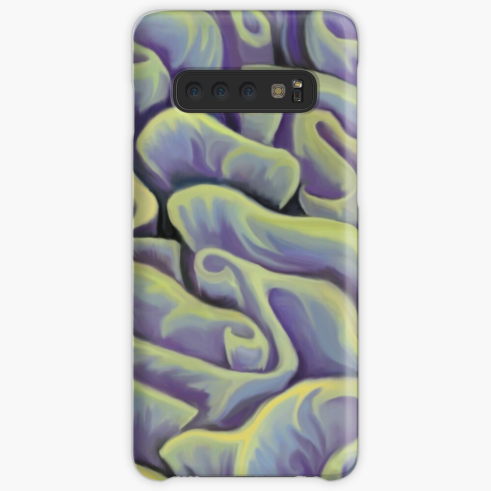 Green and Purple Coral  Samsung Galaxy Snap Case