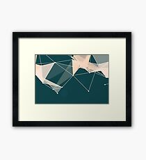 Abstract Geo 3 Framed Print