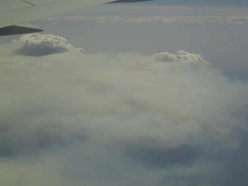 view from a plane...Victoria is burning by Effy Iosifidis