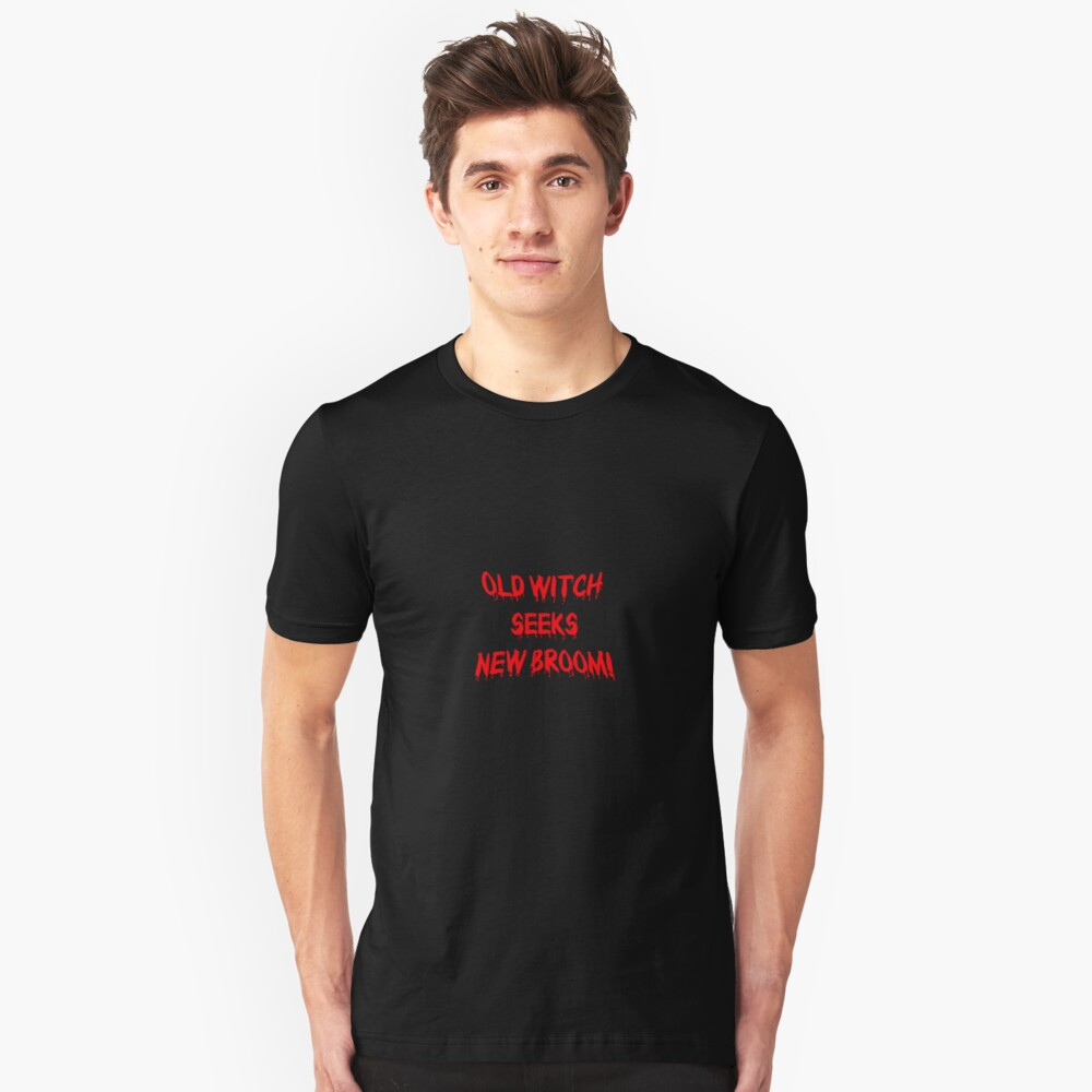Old Witch... Unisex T-Shirt Front
