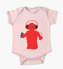 Minifig with Headphones & iPod Kids Clothes