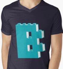 THE LETTER B, by Customize My Minifig Men's V-Neck T-Shirt