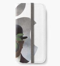 Apple Logo Rene Magritte iPhone Wallet
