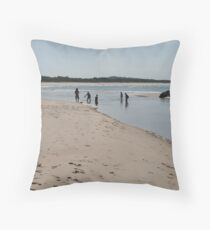 Hathead Beach, Mid-North Coast, NSW.  Throw Pillow