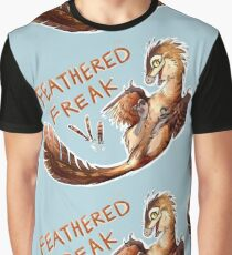 Feathered Freak Graphic T-Shirt