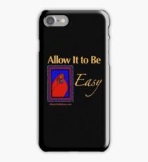 Mom and Baby on Black iPhone Case/Skin