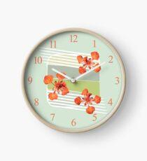 Royal Poinciana Clock