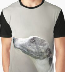Whippet in Profile Graphic T-Shirt