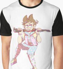 Gun Shells and Lollipops Graphic T-Shirt