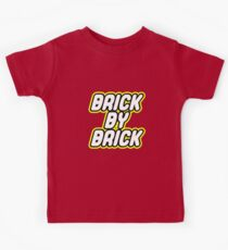 BRICK BY BRICK Kids Tee