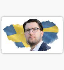 Jimmie Åkesson Flag Sticker