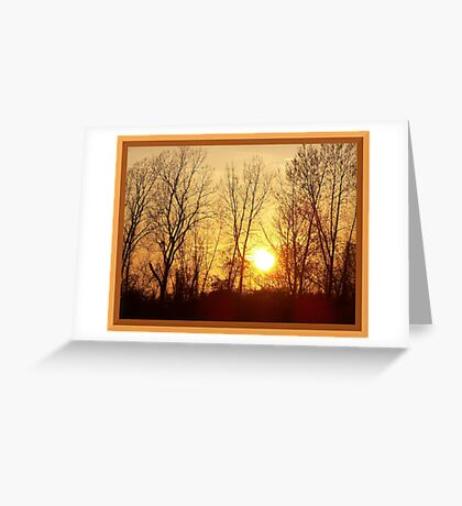 Warm Inner Glow Greeting Card