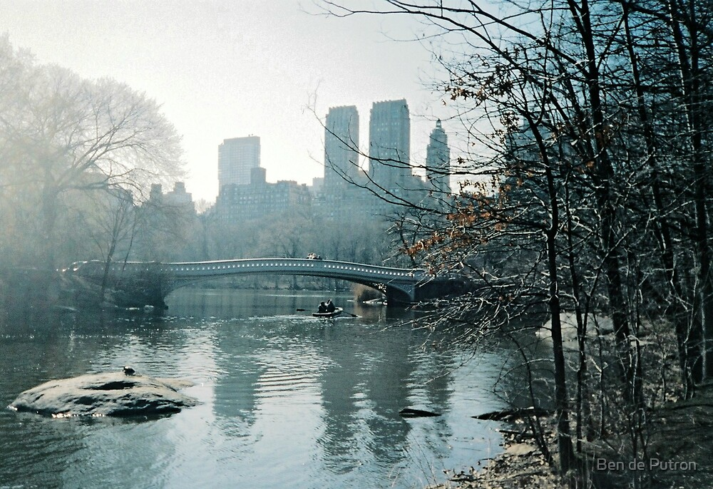 Rowing in Central Park by Ben de Putron