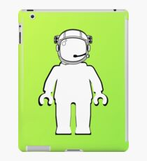 Banksy Style Astronaut Minifig  Customize My Minifig iPad Case/Skin