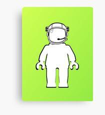 Banksy Style Astronaut Minifig  Customize My Minifig Canvas Print