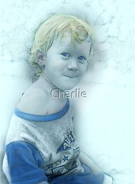 Lucas, 2 1/2 years old by Charlie