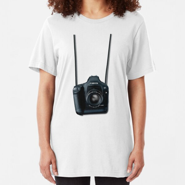 Camera shirt - for Canon users Slim Fit T-Shirt