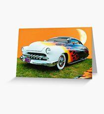 1950 Mercury Lowrider Greeting Card